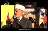 Máxima autoridad religiosa palestina pide exterminar a los judíos