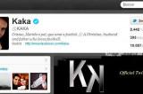 Kaká, el deportista más popular del planeta en Twitter