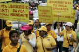 Doscientos mil venezolanos marchan por Jesús