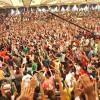Avivamiento cristiano en medio del desierto egipcio